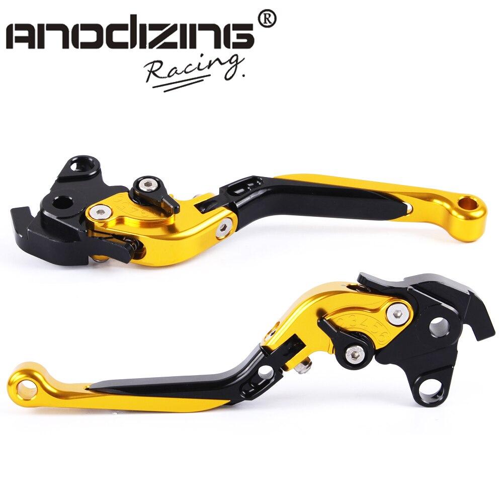 F-XX V-00 Adjustable CNC 3D Extendable Folding Brake Clutch Levers For HONDA VFR800 CBR1100XX/BLACKBIRD ST1300/ST1300A<br>