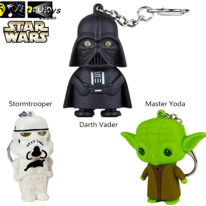1x For Star War Keychain Darth Vader Storm Trooper Action Keyring Key Fob Unique