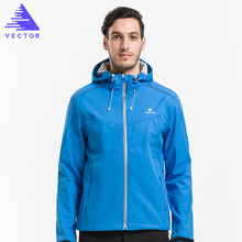 VECTOR Softshell Jacket Men Outdoor Jacket Windproof Waterproof Jacket Male Camping Hiking Jackets Rain Windbreaker 60025(China)