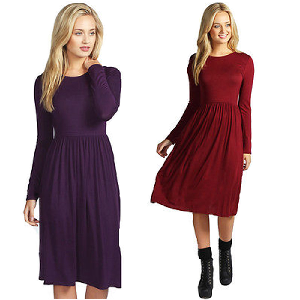Compare Prices on Casual Dress for Women Purple- Online Shopping ...