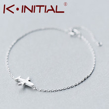 Buy Kinitial 1Pcs New 925 Sterling Silver Trendy Matte Aircraft Airplane Plane Chain Bracelet&Bangle Charm Jewelry pulseras de pla for $4.68 in AliExpress store