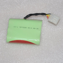 7.2V 3800mAh 4/3A NI-MH Battery Pack For Neato XV11 XV 11 XV-11 12 14 15 21 28 Pro Vacuum Cleaner Sweeping Robot Series(China)