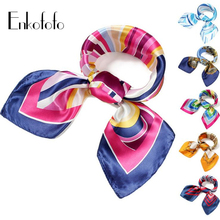 2016 Elegant Women Large Square Silk Scarf Print 60*60cm Fashion Spring Summer Polyester Scarves Shawl Adult Shawls new hot