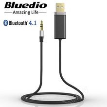 Stereo Hifi Music Sound Blutooth USB 3.5 3.5mm Wireless Audio 4.1 Bluetooth Receiver Adapter RCA Reciever Car For Headphone Aux