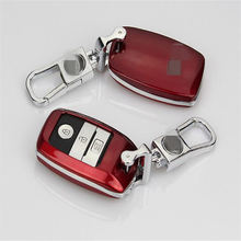 For Kia K3S / K4 / K5 Logo key case for Europe market ABS key protective covers with Keychain(China)