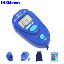 Digital Mini Car Paint Thickness Tester Paint Thickness Meter Auto Coating Thickness Gauge Instrument with Russian Instruction(China)