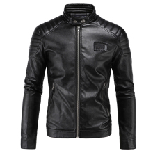 High Quality 5XL Mens Leather Aviator Jacket Name Brand Winter Style England Style Winter Mens Leather Jackets China Cheap S2320(China)