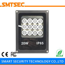 SI-B12IR 12 PCS LED 60M IR Infrared Illuminator DC/AC Angle 15-90 Degrees Optional IP65 Light Lamp For CCTV Security Camera