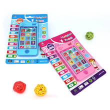 Russian Language Musical Learning Machines Russian Alphabet Music Learning Education Toys Phone Toys For Kid Baby Christmas Gift(China)