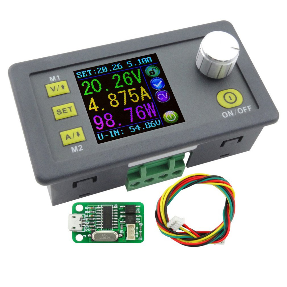 New DPS3005 Voltage Converter LCD Voltmeter Communication Function Constant Voltage Current Step-down Adjustable DC Power Supply<br>