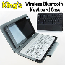 Wireless Bluetooth Keyboard leather case Cover For 10.1 inch For Acer Tab A210/A211/A200/A510/A500 free 3 gifts