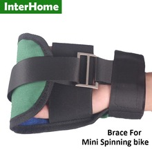 1PC Canvas Hand Brace Gloves for Mini Bike Help the stroke or Finger weakness patient to hold the handle of Physiotherapy Bike
