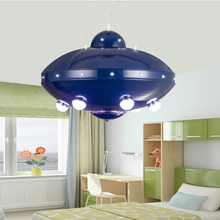 Children toy modern Creative children's room ceiling boys cartoon girls bedroom nursery led children's room UFO lamps ZA