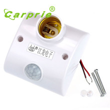 Super E27 Infrared Motion PIR Sensor Automatic LED Light Lamp Holder Switch