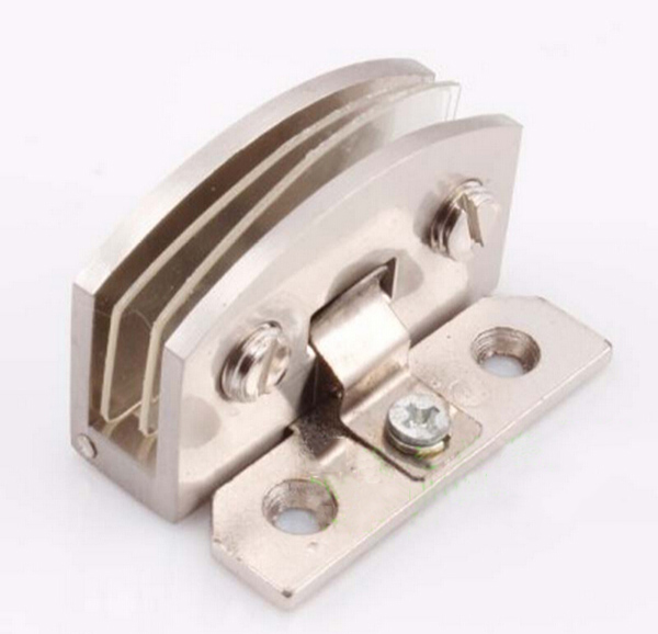 Zinc alloy glass door hinge thicken 90 degrees for...