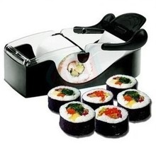 Free Shipping 48 sets As seen on TV Sushi Maker Roller ,magic perfect roll-sushi roll, sushi machine