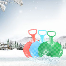 1pc Winter Skiing Toys Skiing Slipper For Children And Adolescents Outdoor Play Snow Sand Toy Shovel Tool(China)