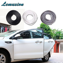 1Set 5m Car door protection strip car door scrap stickers Styling For Toyota Corolla Honda Civic Hyundai Volvo XC60 accessories