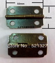 Antique Hardware hinge metal box hinge 1.2 inch big eye-level hinge 32 * 20MM wooden box