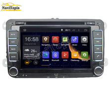 NAVITOPIA 1024*600 8 Inch Android 5.1.1 Car DVD Player for VW CROSS for GOLF BLUE MOTION for SPORTLINE for BORA for AMAROK GPS