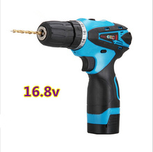 16.8V rechargeable Lithium Battery Waterproof Mini Hand Drill electric drill Hole opener electric screwdriver power Torque Drill