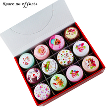 Organizer Mac Lipstick Box Round Tin Box Delicate Macaron Snack Case Househld Contanier For Tea Pill Candy Sundries Gift Box(China)