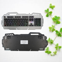 Original Full Size Mechanical Keyboard with Backlight Anti-Ghosting for Teclado Gamer High quality Anti-skid gaming keyboard(China)
