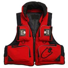 LumiParty Adult Adjustable waterproof Buoyancy Sail Kayak Fly Fishing Life Jacket Safe Pocket Vest with Removable Liner