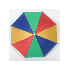 Diameter 69CM Creative Headwear Sunshade Umbrella Beach Fishing Hiking  Camping Outdoor Sport Umbrella Hat Cap Parasol