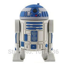 Star War Series Robot R2D2 USB Flash Drive Memory Disk Card Stick Thumb/Car/Pendrive Key /creative Gift 2GB 4GB 8GB 16GB S40