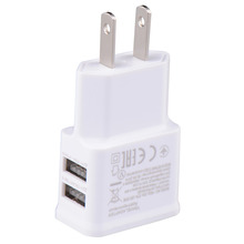 US plug CellPhone Charger 2A 2 USB Charger Ports Adapter Wall Charger For iPhone 6/5S/5/4S Samsung Galaxy CH129