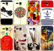 Good Selling Brilliant Colorful Clothes Buttons Sweet Home Seaport Town Phone Case Cover Skin Shell For Lenovo A8 A806 A808T