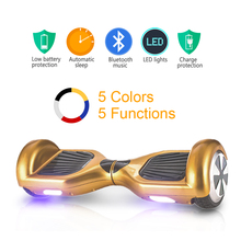 TG Bluetooth Hoverboard Self Balancing 6.5inch Electric Skateboard Hover Board gyroscope Electric Scooter standing Scooter