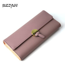 New Design Ladies Purse Woman Wallet Long Hasp Female Purses Luxury Leather For Phone Womens Wallets Clutch Card Holder Carteira