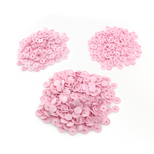 150pcs KAM T5 Snaps Resin Buttons Snaps (Pink)