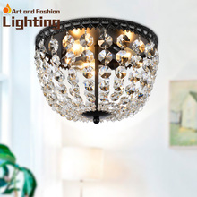 Crystal ball ceiling lights Ball shaped Deco Glam ceiling lights E14 bulbs