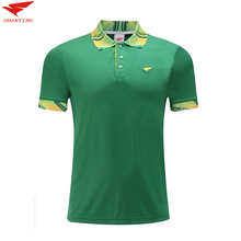 2017 High Quality Men Sportwear Polo Shirt  Quick Dry Golf t shirt Sports Leisure T Shirt Turn-down Collar soccer Jerseys