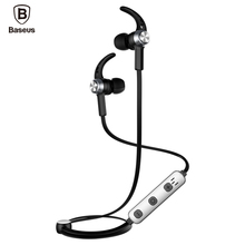 Buy Baseus Magnetic Bluetooth Earphone iPhone 7 Samsung S8 Wireless Sport Running Stereo Ear Earbuds Headset MP3 MP4 Earpiece for $14.12 in AliExpress store
