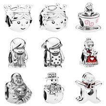 Buy Cute Precious Prince Princess Boy Girl Alice Wonderland Tea Cup Charm Fit Pandora Bracelet 925 Sterling Silver Charm Jewelry for $5.90 in AliExpress store
