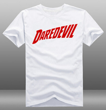 Mens Casual Daredevil Logo T-shirts Print Pattern 100% Cotton Short Sleeve O-Neck Tops Tee Shirts Clothing