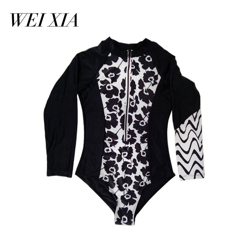 WEIXIA 2018 New arrival Show Women Swimwear 17296 One Piece Swimsuit Brazilian Beach Wear Simple Design Swimsuit Women<br>