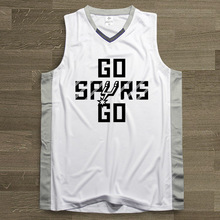 SYNSLOVEN design Men Basketball Jersey top Uniforms training go spurs no.9 tony parker Sports clothing mesh Breathable plus size(China)