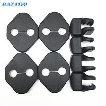 4Pcs Car Door Lock Protector Cover+4Pcs Door Check Arm Protection Cover For Toyota Camry Corolla 2011 2012 2013 2014