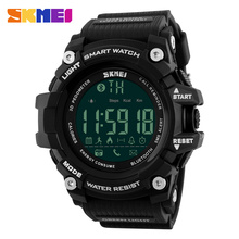 Buy SKMEI Men Smart Pedometer Calories Chronograph Sport Watches Fitness Tracker Bluetooth ios Android Digital Wristwatches 1227 for $19.99 in AliExpress store