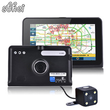 HD 7 inch Capacitive screen Car GPS Navigation Dash cam Tablet PC Android 4.4.2  WIFI FM 16GB/512M DDR/ 1.5 GHZ