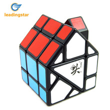 LeadingStar Bermuda House II Magic Cube Black Color Great Educational Children Twisty Puzzle Toy Professional cubo magico(China)