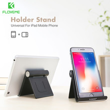 FLOVEME Universal Desk Tablet Bracket Stand Holder For iPad For iPhone 6 7 Plus For Samsung S7 S8 For Xiaomi Redmi mi 5 Rotated(China)