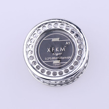XFKM(MS) 5m/roll Flat Alien Clapton Wire for RDA RBA Rebuildable Atomizer Heating Wires Coil Tool Alien Clapton Heating Wire(China)