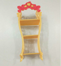 Storage Racks For Monster High Dolls Doll Furniture Kids Playhouse Shoes Rack For Barbie Dollhouse