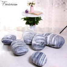 Modern Outdoor cushions 6 pieces Stones Pillows Covers,Colorful Country Road Pebble floor cushions Cover,Throw pillow outdoor(China)